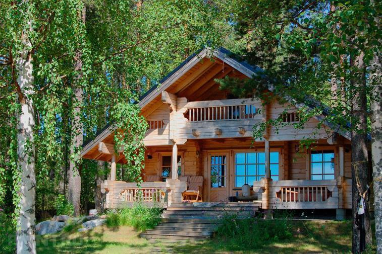 Как сберечь деревья при строительстве дома из клееного бруса