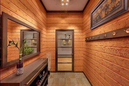 Тамбур в доме из клееного бруса: нужен или нет